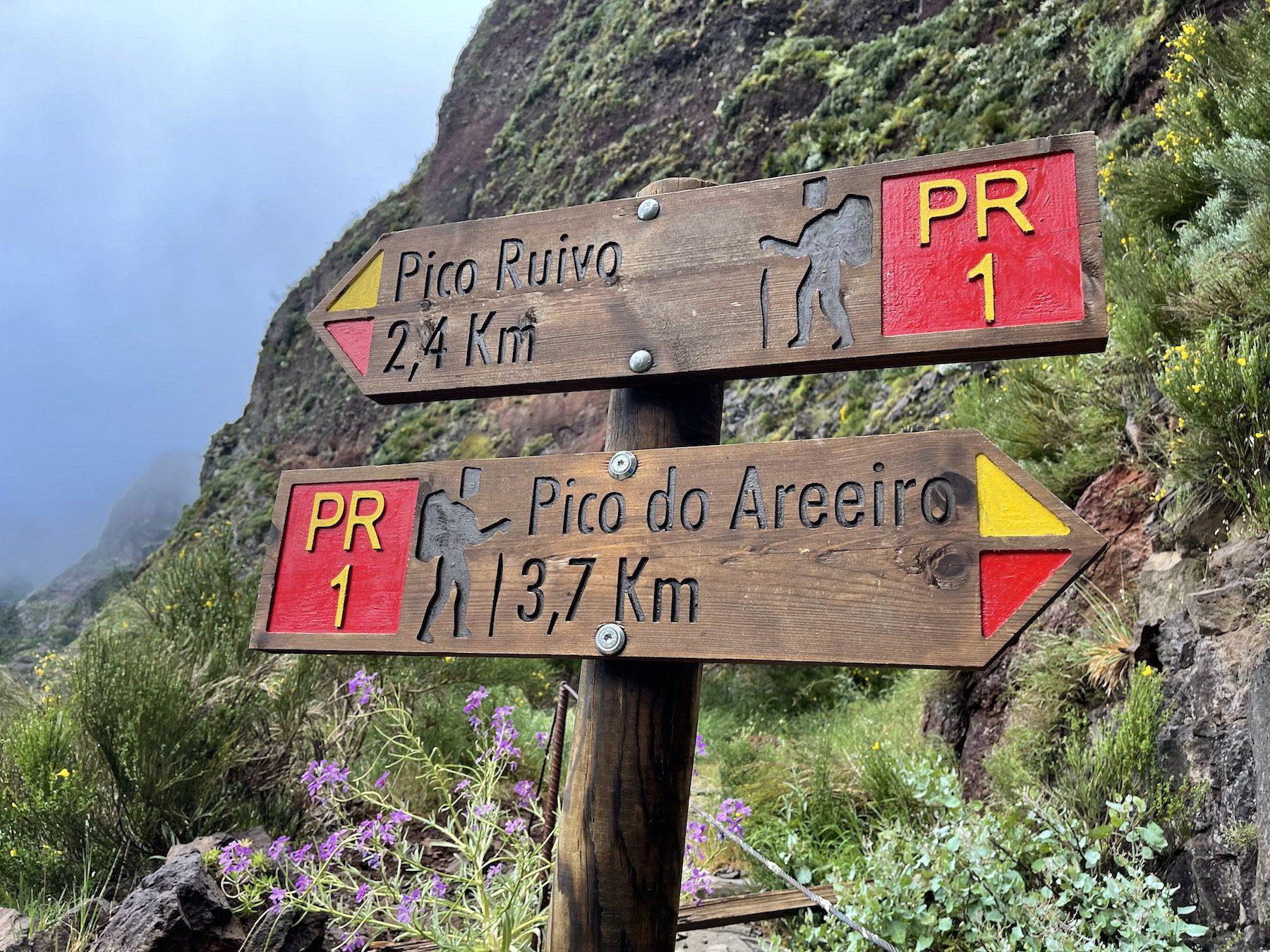 Read more about the article Madeira: Day 8 – Hiking Pico do Arieiro to Pico Ruivo Return