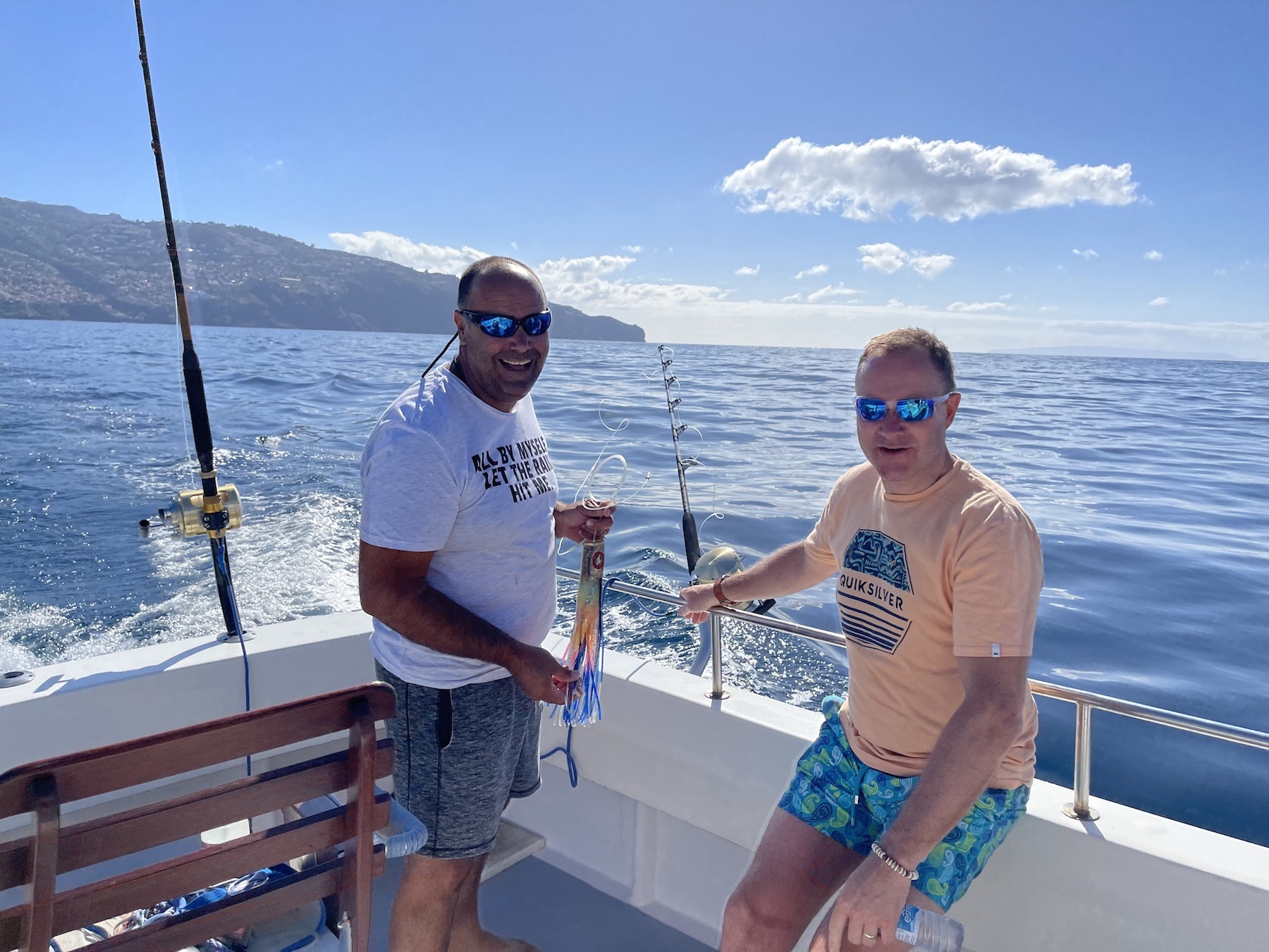 Read more about the article Madeira: Day 10 & 11 – Deep Sea Fishing … and Farewell beautiful Madeira…
